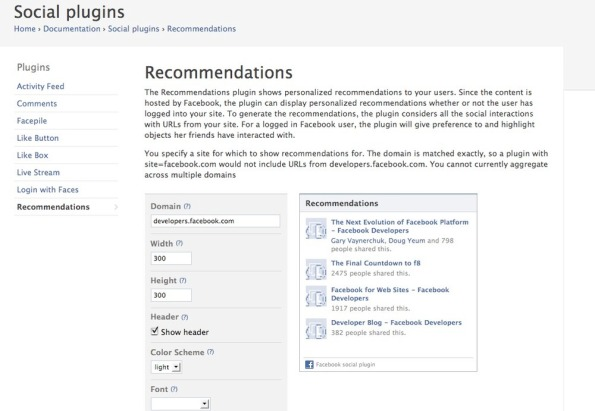 Recommendations_-_facebook_developers